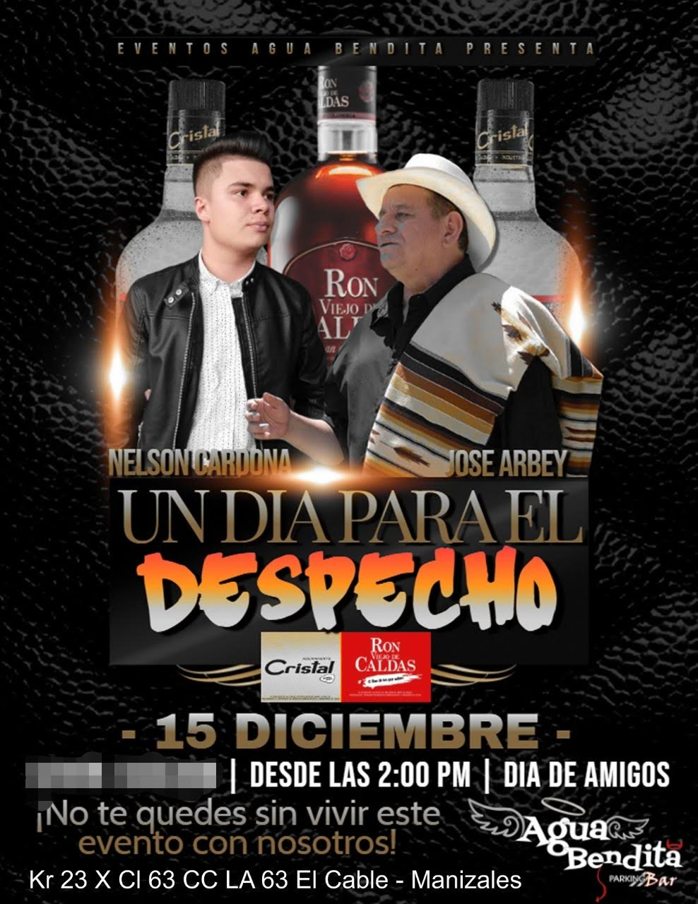 Evento: JOSE ARBEY EN MANIZALES